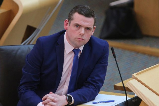 """First Minister Nicola Sturgeon clashed with Scottish Conservative leader Douglas Ross at FMQs over the support being offered to Glasgow businesses left """"struggling to survive"""" by Covid-19 restrictions."""
