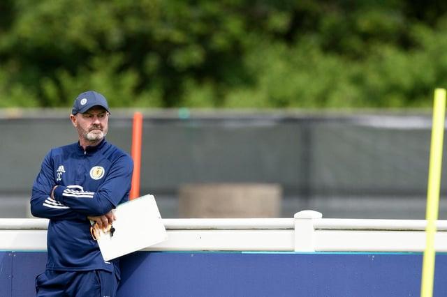 Scotland boss Steve Clarke ponders his team selection.