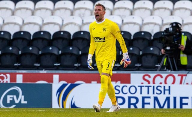 Allan McGregor's influence on Rangers' title-winning season and successful Europa League campaign has been praised by team-mate Scott Arfield. (Photo by Alan Harvey / SNS Group)