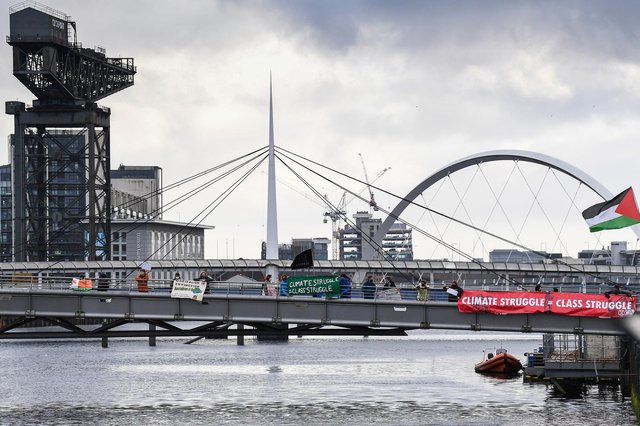 The rescheduled COP26 summit is due to take place in Glasgow this November. Picture: Jeff J Mitchell/Getty