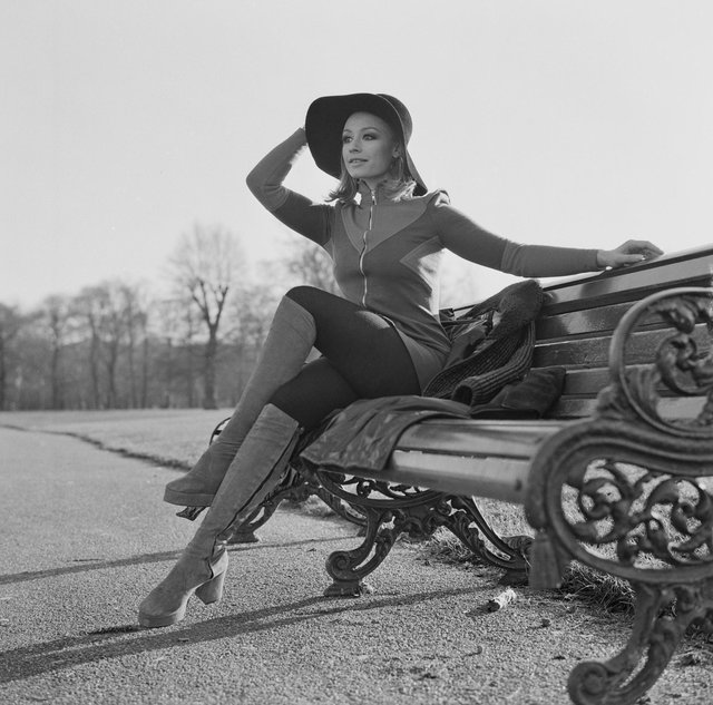 Raffaella Carra, posing in London in 1972, was renowned for her positive sexual message (Photo: Reg Burkett / Daily Express / Hulton Archive / Getty Images)