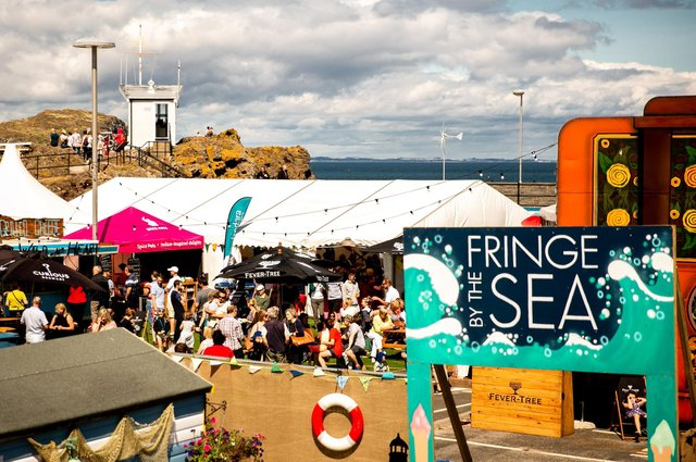 Fringe by the Sea has been staged in North Berwick since 2008.