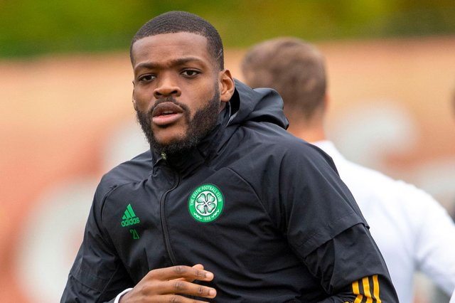 Olivier Ntcham has completed a loan move to Marseille