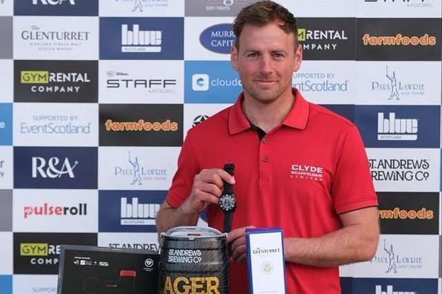 Gavin Hay won the season-opening Montrose Links Masters on the Tartan Pro Tour and has backed it up with top-10 finishes in both the Barassie Links Masters and Royal Dornoch Masters. Picture: Tartan Pro Tour