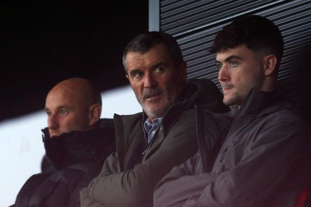 Roy Keane. (Photo by Lewis Storey/Getty Images)