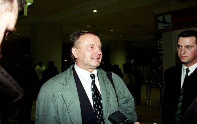 Dr Jozef Venglos back in 1999.