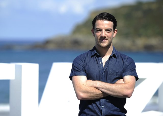 Scottish actor Kevin Guthrie poses for a photocall of Sunset Song. Photo: Ander Gillenea/AFP via Getty Images