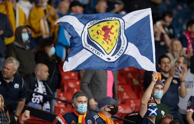 Scotland fans were left disappointed by the result against Czech Republic. (Photo by Alan Harvey / SNS Group)