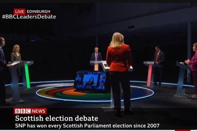 The BBC leaders' debate.