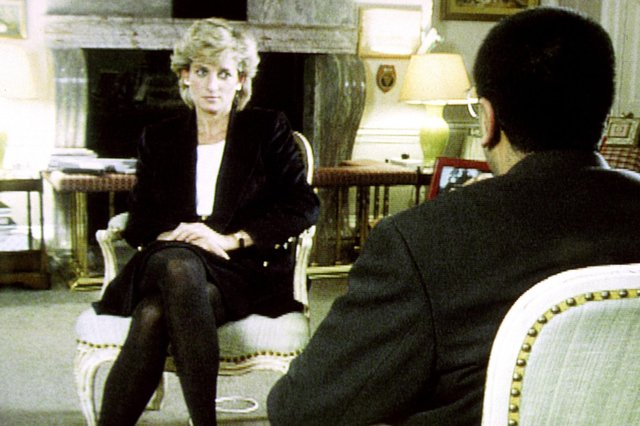Diana, Princess of Wales, is interviewed by Martin Bashir for the BBC in 1995 (Picture: BBC/PA Wire)