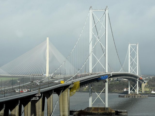 The Queensferry Crossing has been closed in both directions on Wednesday evening.