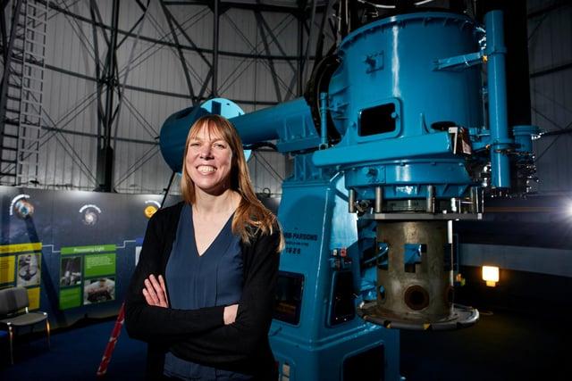 La profesora Kathryn Heymans dice que el nuevo observatorio Vera C. Robin, que se está construyendo en Chile, podría provocar una revolución en la física (Foto: Maverick Image Agency)