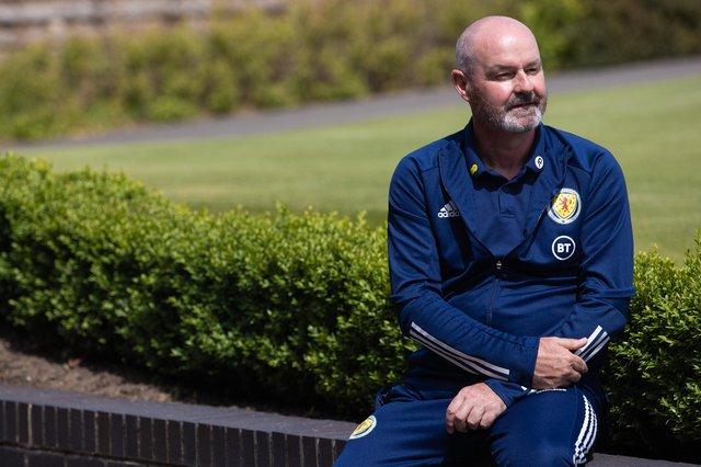 Steve Clarke: no spying (Photo by Craig Williamson / SNS Group)