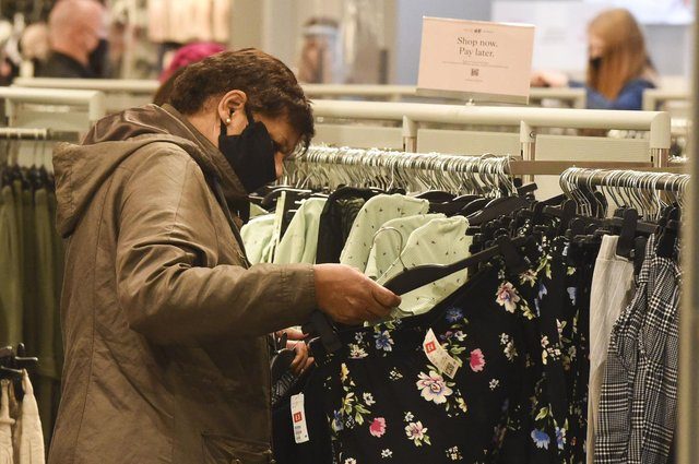 Being able to touch and try items is the top reason shoppers are excited to return to stores (file image). Picture: Lisa Ferguson.