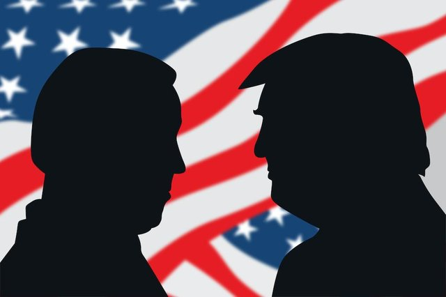 This year's race for president between Biden and Trump has been unlike any seen before (Shutterstock)