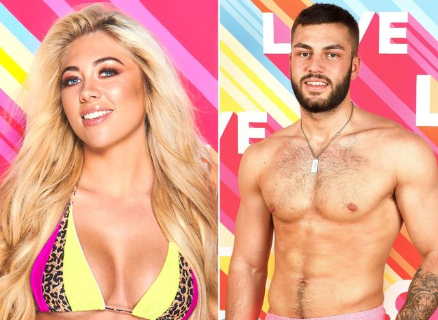 When is Love Island 2021 on TV? Scottish lass Paige Turley and her partner Finn Tapp won the previous series (photos: ITV)
