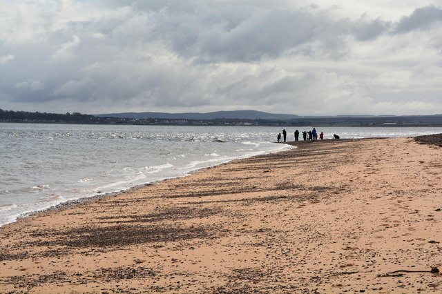 The woman's body was found on a beach near Fortrose, Highland (pictured). PIC: geograph.org/Lewis Clarke