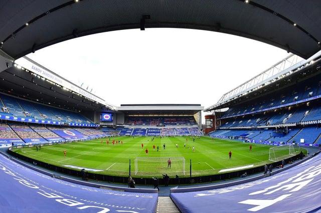 Ibrox Stadium. (Photo by Mark Runnacles/Getty Images)