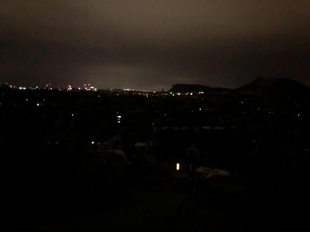 """Edinburgh residents have described how the city was plunged into a """"blackout"""" following a power outage."""
