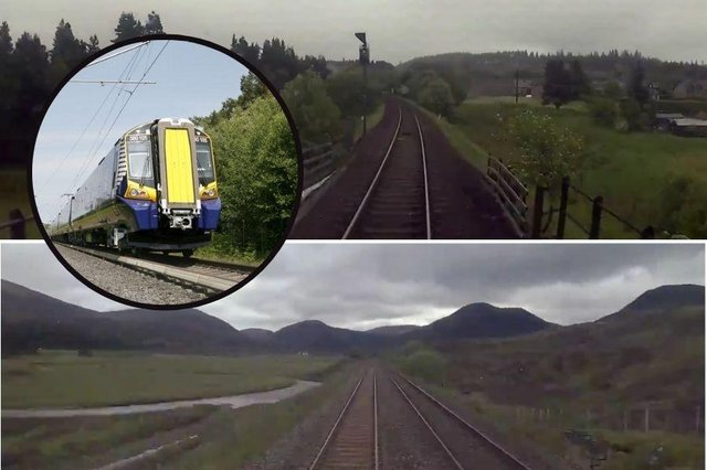 Watch incredible footage from the 'best office view' in the whole of Scotland.