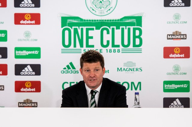 Dominic McKay has been a season-ticket holder at Celtic for many years.