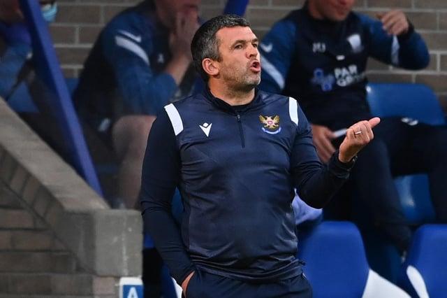 St Johnstone manager Callum Davidson.