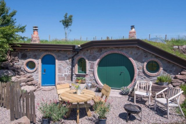 A stay in a hobbit house would be perfect for any Lord of the RIngs fan.