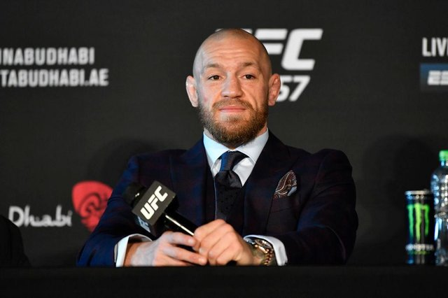 Conor McGregor suffered a surprise loss on Saturday night (Getty Images)