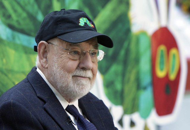 Eric Carle, author of The Very Hungry Caterpillar dies aged 91 (AP Photo/Richard Drew, File).