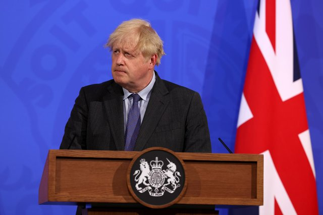 Prime Minister Boris Johnson will give an update later today on if England's final Covid restrictions will be lifted (Getty Images)