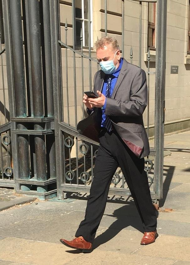 Alan Tilbrook, 63, wrote several threatening comments referring to George Galloway