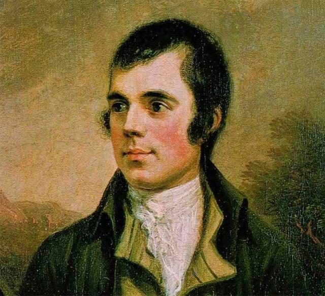 A painting of Robert Burns by Alexander Nasmyth.