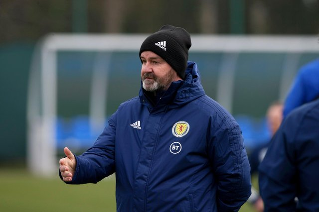 Steve Clarke: backs Scotland players' choice to stand rather than take a knee before opening World Cup qualifier v Austria (Photo by Craig Williamson / SNS Group)