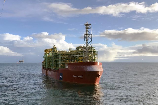 Cairn is offloading its 20 per centinterest in the Catcher field in the North Sea. Picture: contributed.
