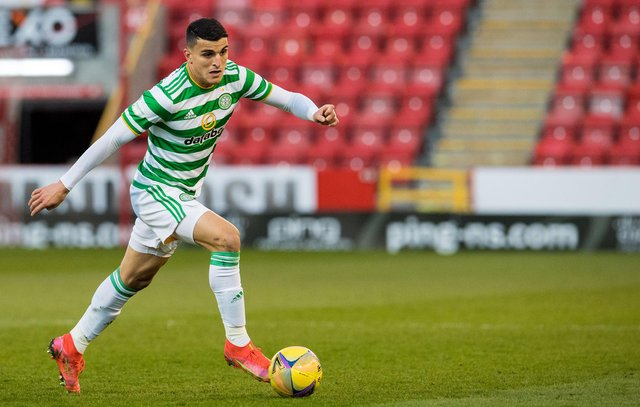 Mohamed Elyounoussi has impressed on loan at Celtic in each of the past two seasons. Picture: SNS