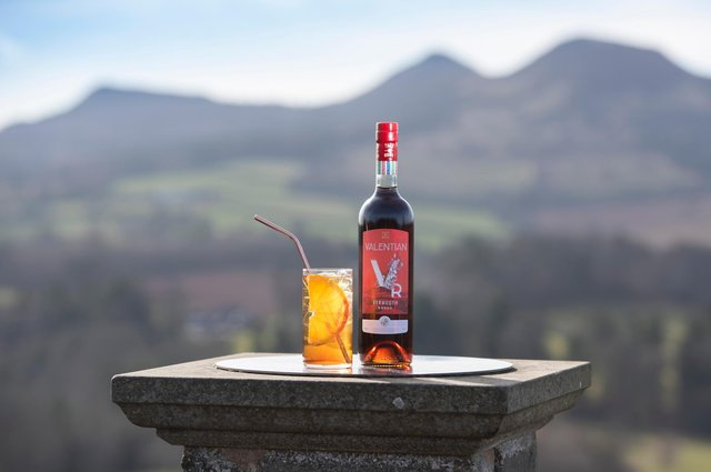 Dominic and David Tait, co-founders of drinks maker Tait Bros, launched award-winning Valentian Vermouth in late 2019 just before the pandemic hit. Picture: Kirsty Anderson Photography