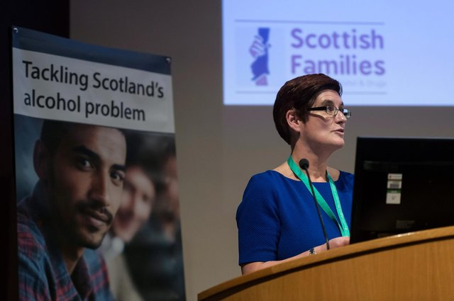 Justina Murray, CEO of Scottish Families Affected by Alcohol & Drugs