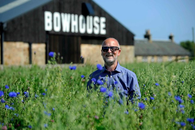 Svend McEwan-Brown, East Neuk Festival director, pictured at The Bowhouse PIC: Colin Hattersley Photography