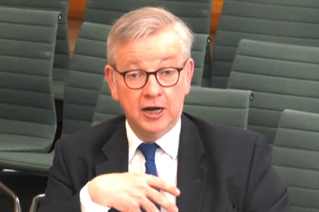 Michael Gove was found to have broken the law over the contracts