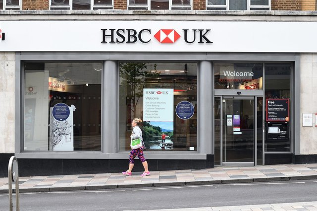 HSBC, the UK's largest bank, which has been shifting focus to areas garnering higher returns such as Asia and wealth management, moved up one position to eighth in the global ranking of the top 1,000 world banks. Picture: Kirsty O'Connor/PA Wire