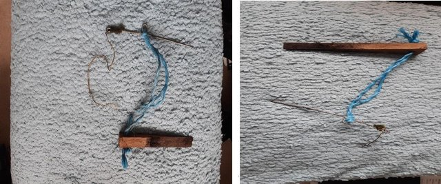 These photographs are of the actual snares seized, which are self-locking illegal snares picture: Police Scotland
