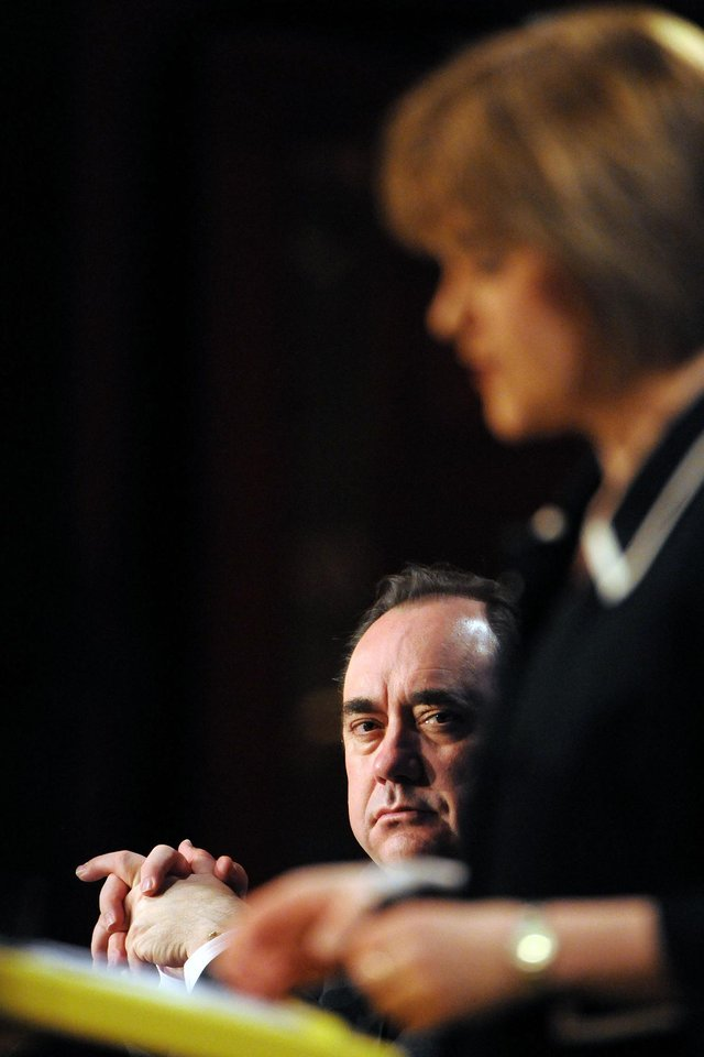 """The polling makes grim reading for Alex Salmond's hopes of a """"supermajority"""""""
