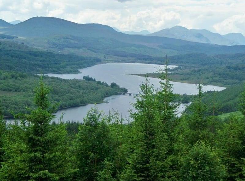 Sabine Dettmer captured this atmospheric picture of Loch Garry.