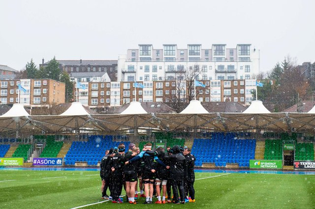 A Glasgow Warriors player has tested positive for Covid-19. Picture: Ross MacDonald/SNS