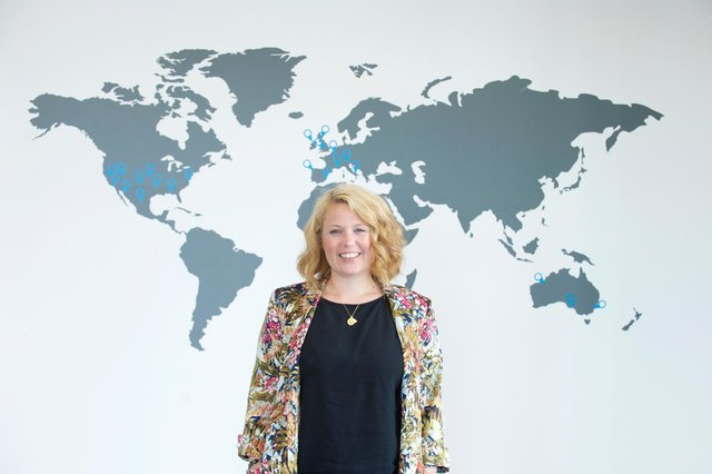 Leah Hutcheon, founder and chief executive of Edinburgh-based Appointedd, which has seen global success. Picture: Scottish Enterprise/Rob McDougall