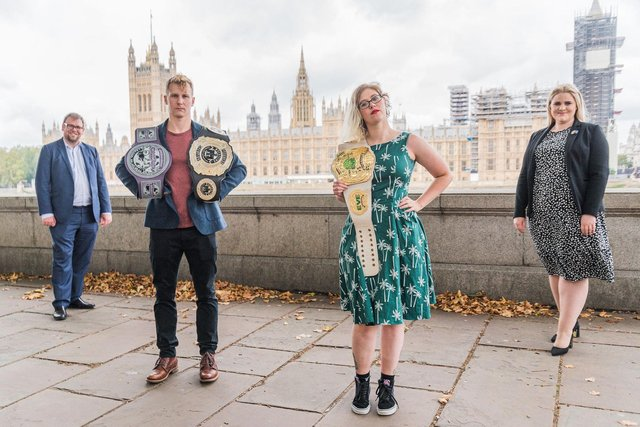A new report published today by the All-Party Parliamentary Group on Wrestling urged Holyrood to help support Scotland's wrestling industry