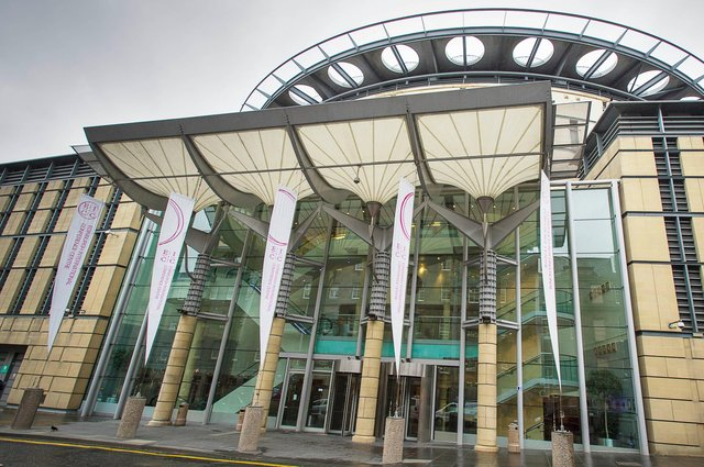 Mass vaccination will be administered at the EICC