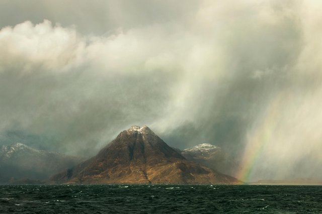 """""""Storm Ciara at Elgol"""" by Tony Higginson, winner of the seascape category"""