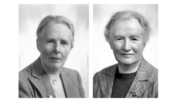 Dr Evelyn Baxter and Miss Leonora Rintoul. Two women whose childhood wonder of the natural world led them to become pioneering ornithologists. PIC: Scottish Ornithologists Club.