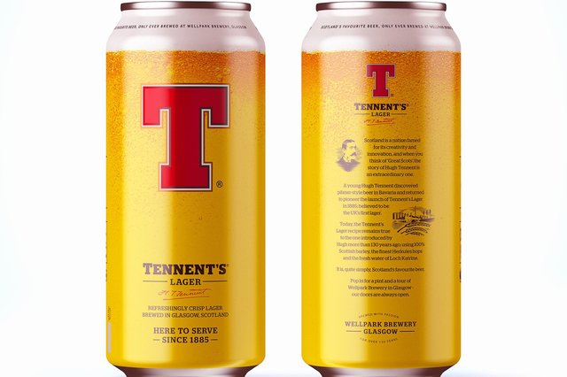 Tennent's is Scotland's biggest lager brand.
